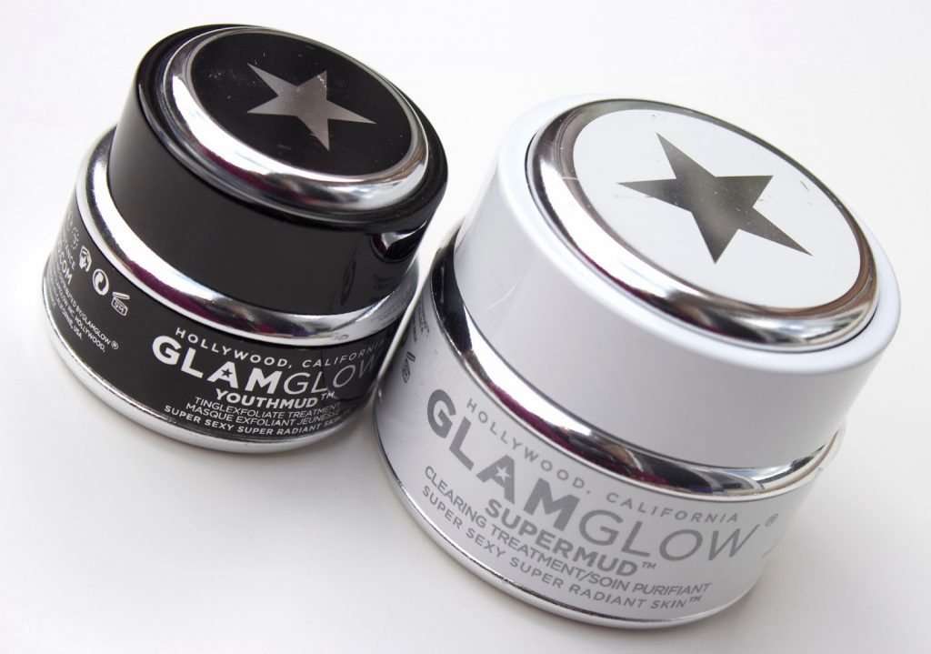 GlamGlows ansigtsmasker: Youth Mud Mask og Super Mud Mask