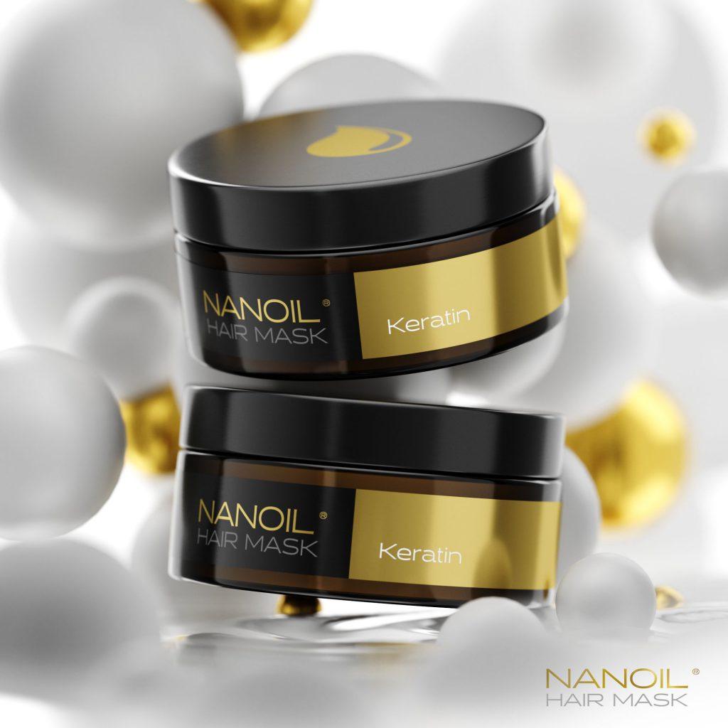 Reparerende hårbehandling med Nanoil. Hvordan virker keratinhårmasken?