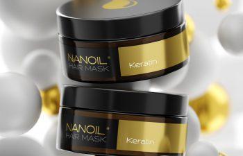 Nanoil keratin hårmasker