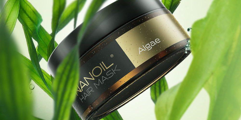 Nanoil Hårmaske med Alger: Havets kraft i din hårpleje
