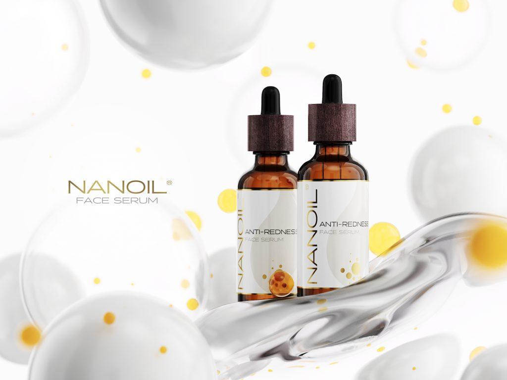 Har du fået nok af irriteret hud? Giv Nanoil Anti-Redness Face Serum et forsøg!